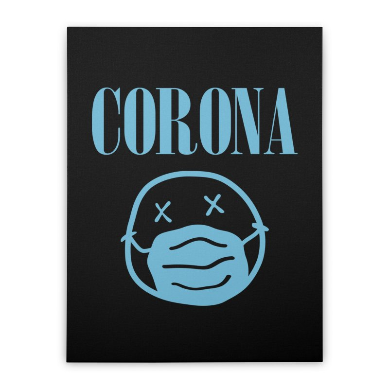Corona Band Home Stretched Canvas by Olipop Art & Design Shop