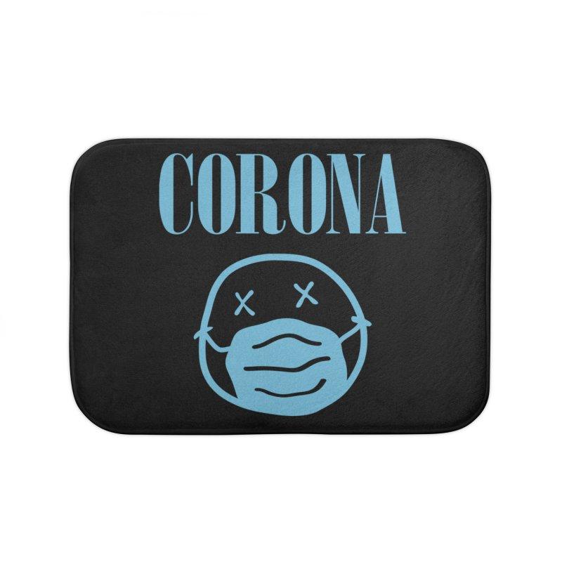 Corona Band Home Bath Mat by Olipop Art & Design Shop