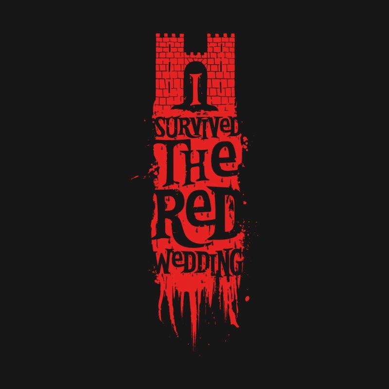 Red Wedding Survivor by Olipop Art & Design Shop