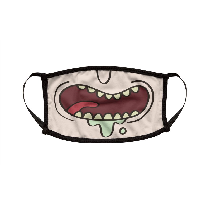 Mad Scientist Face Mask Accessories Face Mask by Olipop Art & Design Shop