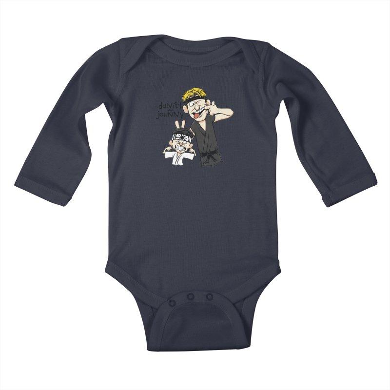 Daniel and Johnny Kids Baby Longsleeve Bodysuit by Olipop Art & Design Shop