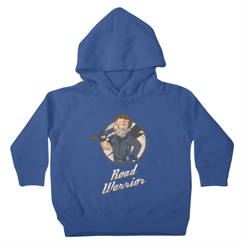 Warrior of the Road Kids Toddler Pullover Hoody by Olipop Art & Design Shop