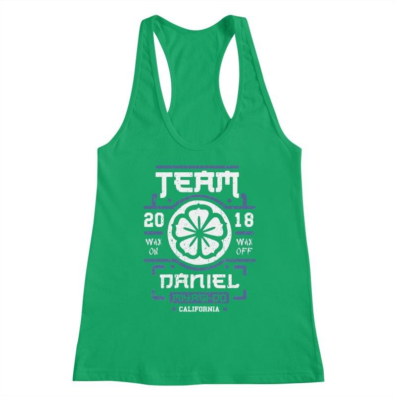 Team Daniel Women's Tank by Olipop Art & Design Shop