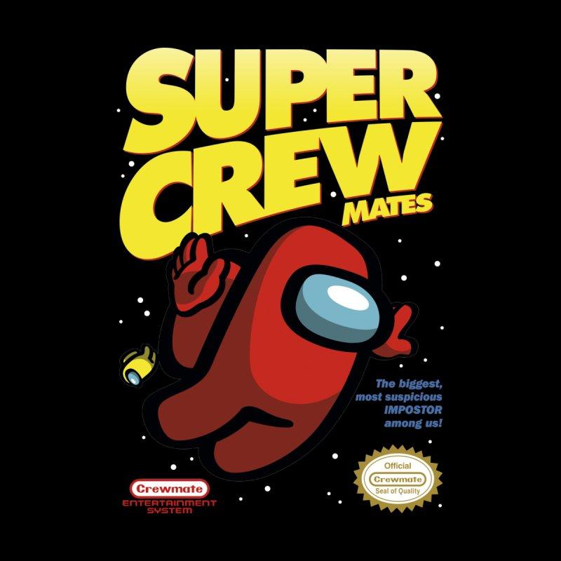 Super Crewmates Kids Baby Longsleeve Bodysuit by Olipop Art & Design Shop