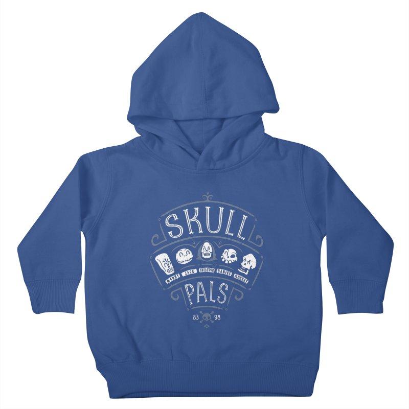 Skull Pals Kids Toddler Pullover Hoody by Olipop Art & Design Shop