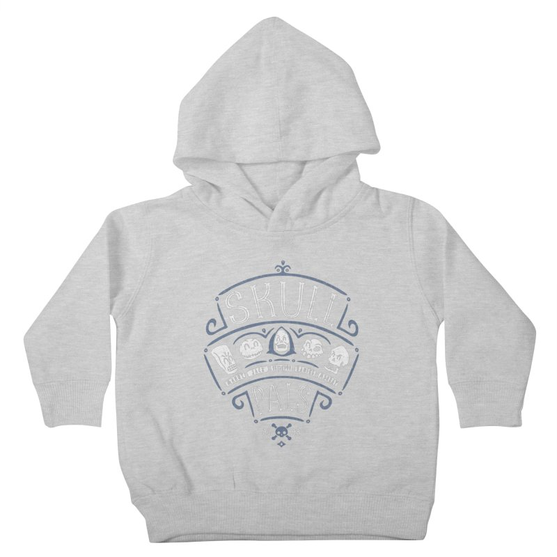 Skull Pals Kids Toddler Pullover Hoody by Olipop Art & Design Shop