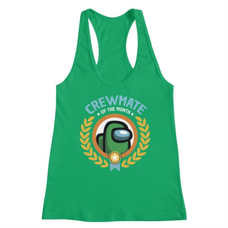Crewmate of the Month Women's Tank by Olipop Art & Design Shop