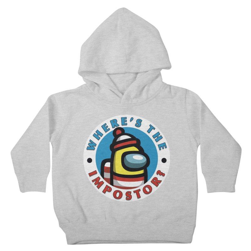 Find the Impostor Kids Toddler Pullover Hoody by Olipop Art & Design Shop