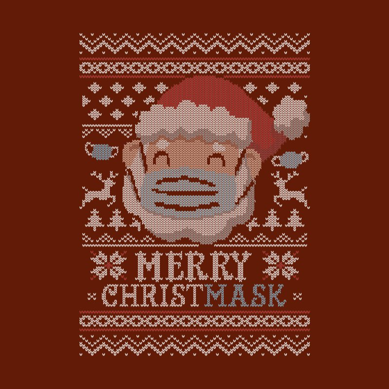 Ugly Christmask Sweater Kids T-Shirt by Olipop Art & Design Shop