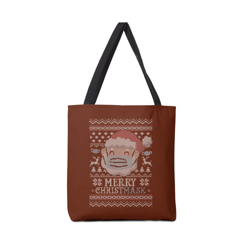 Ugly Christmask Sweater Accessories Bag by Olipop Art & Design Shop