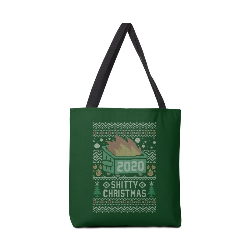 Ugly Shitty Christmas Sweater Accessories Bag by Olipop Art & Design Shop