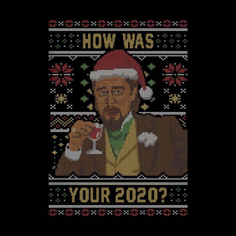 How Was your 2020 Ugly Sweater Accessories Button by Olipop Art & Design Shop