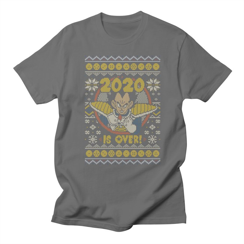 2020 is Over Ugly Anime Sweater Men's T-Shirt by Olipop Art & Design Shop