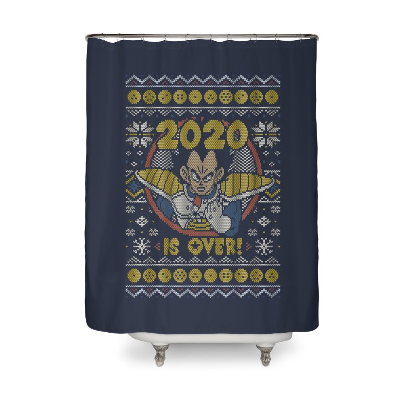 2020 is Over Ugly Anime Sweater Home Shower Curtain by Olipop Art & Design Shop