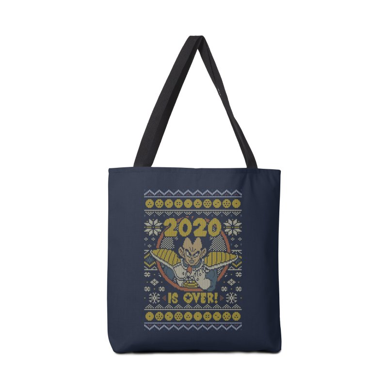2020 is Over Ugly Anime Sweater Accessories Bag by Olipop Art & Design Shop
