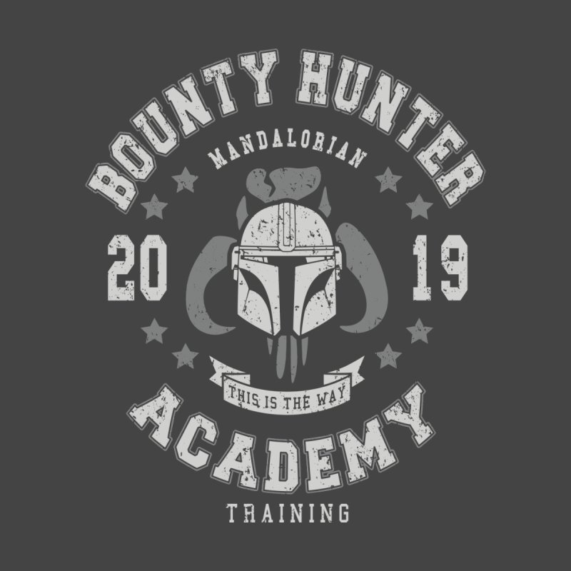 Bounty Hunter Academy 19 Men's T-Shirt by Olipop Art & Design Shop