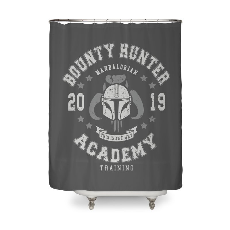Bounty Hunter Academy 19 Home Shower Curtain by Olipop Art & Design Shop