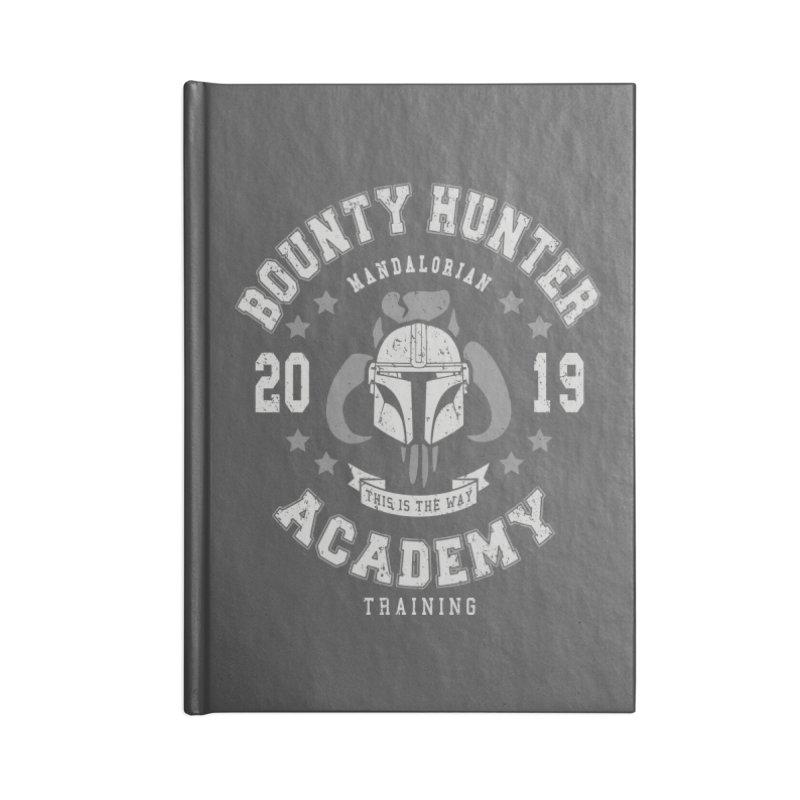 Bounty Hunter Academy 19 Accessories Notebook by Olipop Art & Design Shop