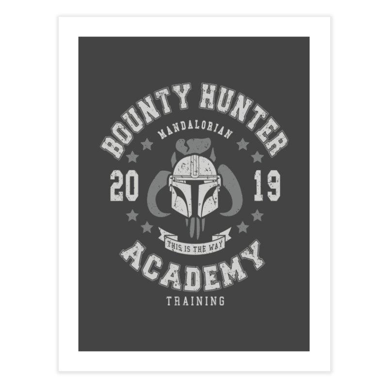 Bounty Hunter Academy 19 Home Fine Art Print by Olipop Art & Design Shop