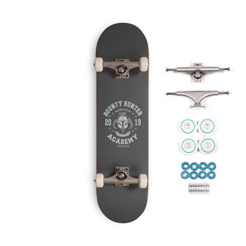 Bounty Hunter Academy 19 Accessories Skateboard by Olipop Art & Design Shop