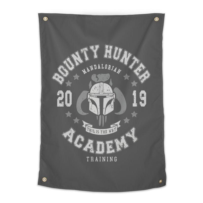 Bounty Hunter Academy 19 Home Tapestry by Olipop Art & Design Shop