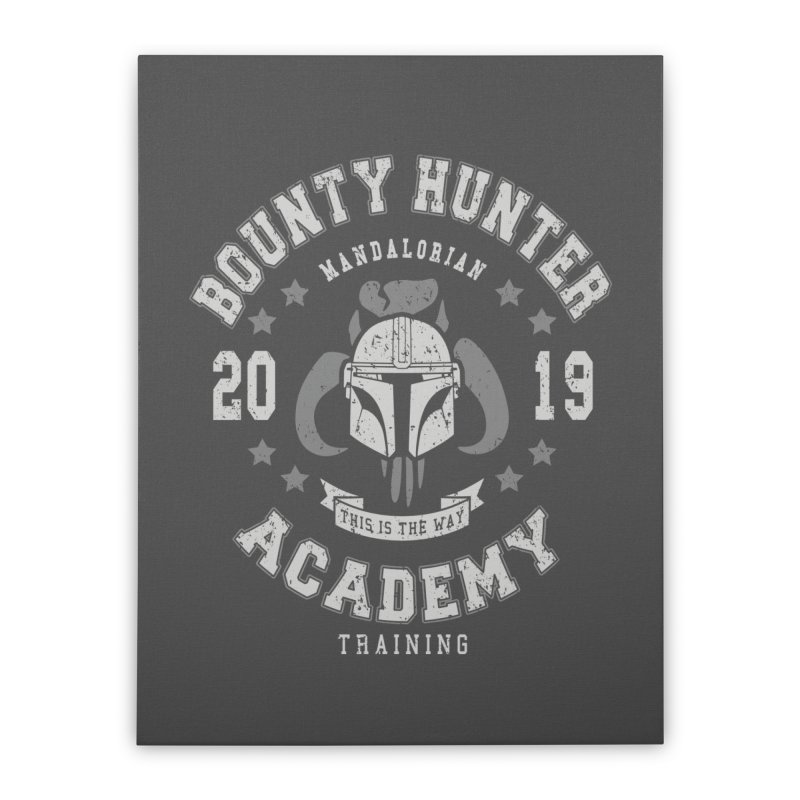 Bounty Hunter Academy 19 Home Stretched Canvas by Olipop Art & Design Shop