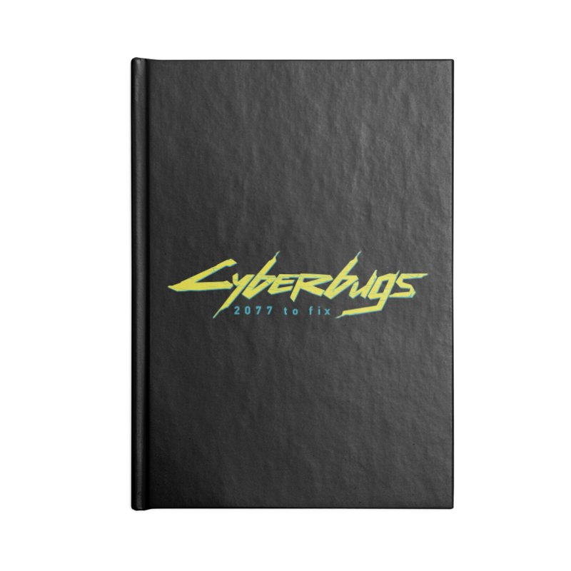 Cyberbugs Accessories Notebook by Olipop Art & Design Shop