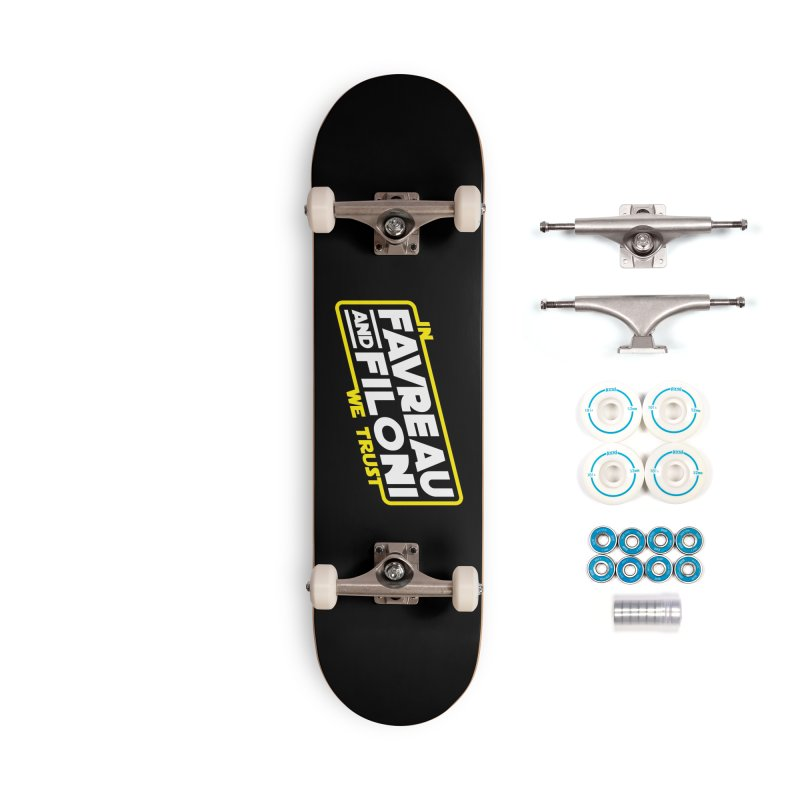 Our Only Hope Accessories Skateboard by Olipop Art & Design Shop