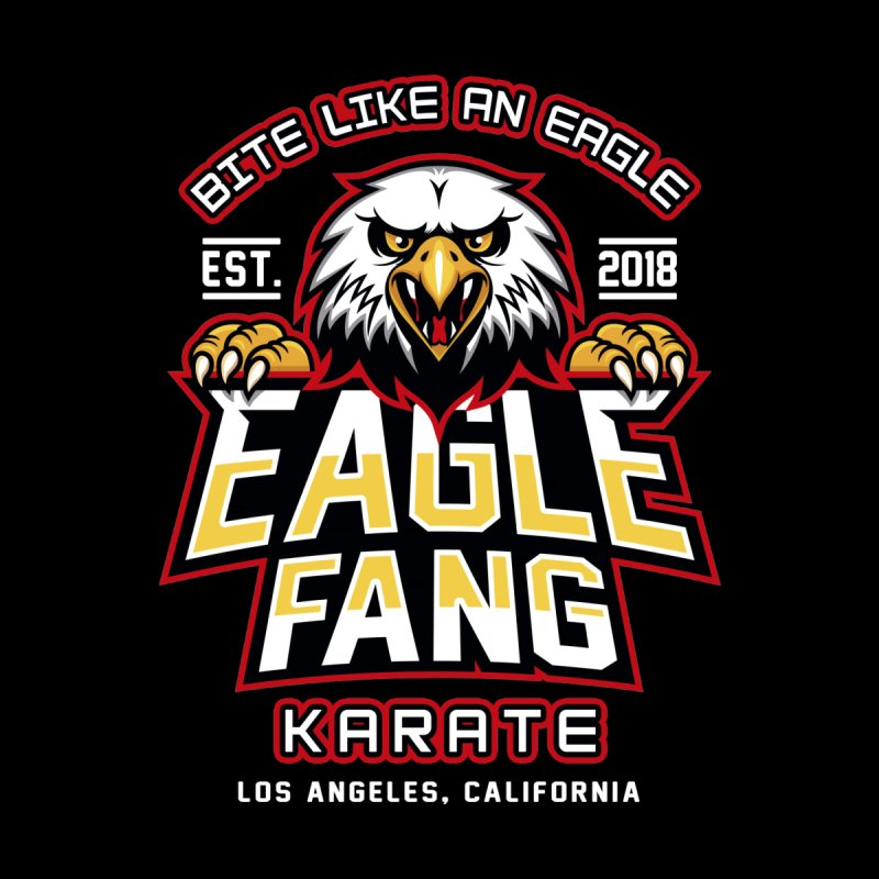 Eagle Karate Dojo Home Mounted Aluminum Print by Olipop Art & Design Shop