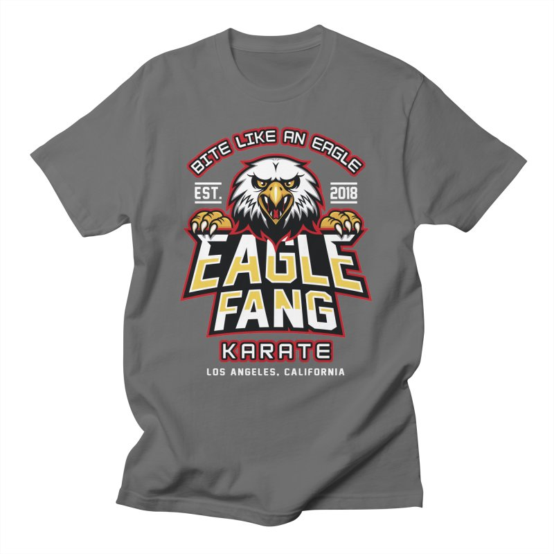 Eagle Karate Dojo Men's T-Shirt by Olipop Art & Design Shop