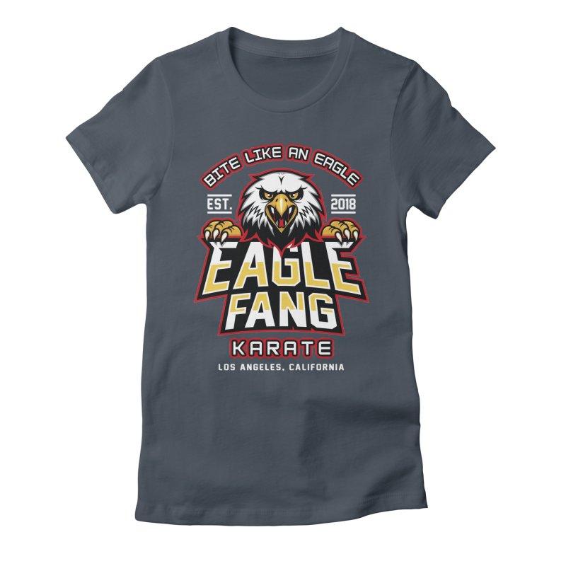Eagle Karate Dojo Women's T-Shirt by Olipop Art & Design Shop
