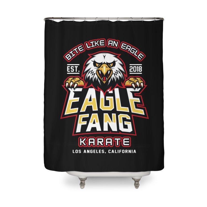 Eagle Karate Dojo Home Shower Curtain by Olipop Art & Design Shop