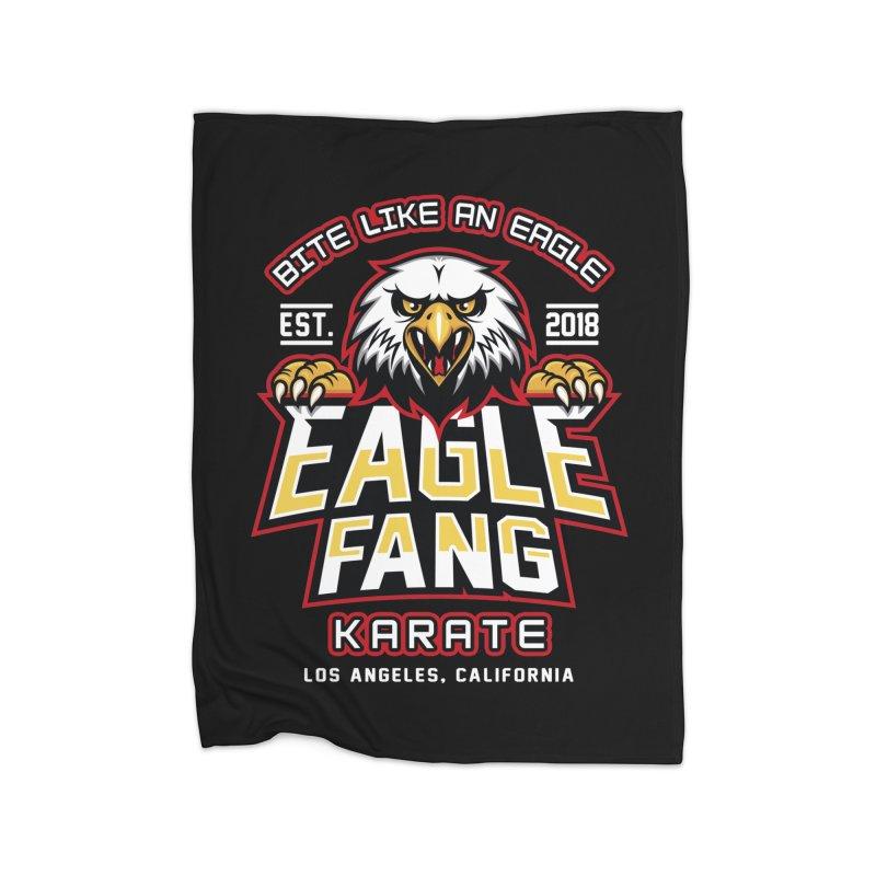 Eagle Karate Dojo Home Blanket by Olipop Art & Design Shop