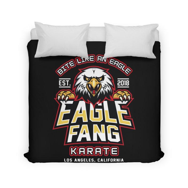 Eagle Karate Dojo Home Duvet by Olipop Art & Design Shop