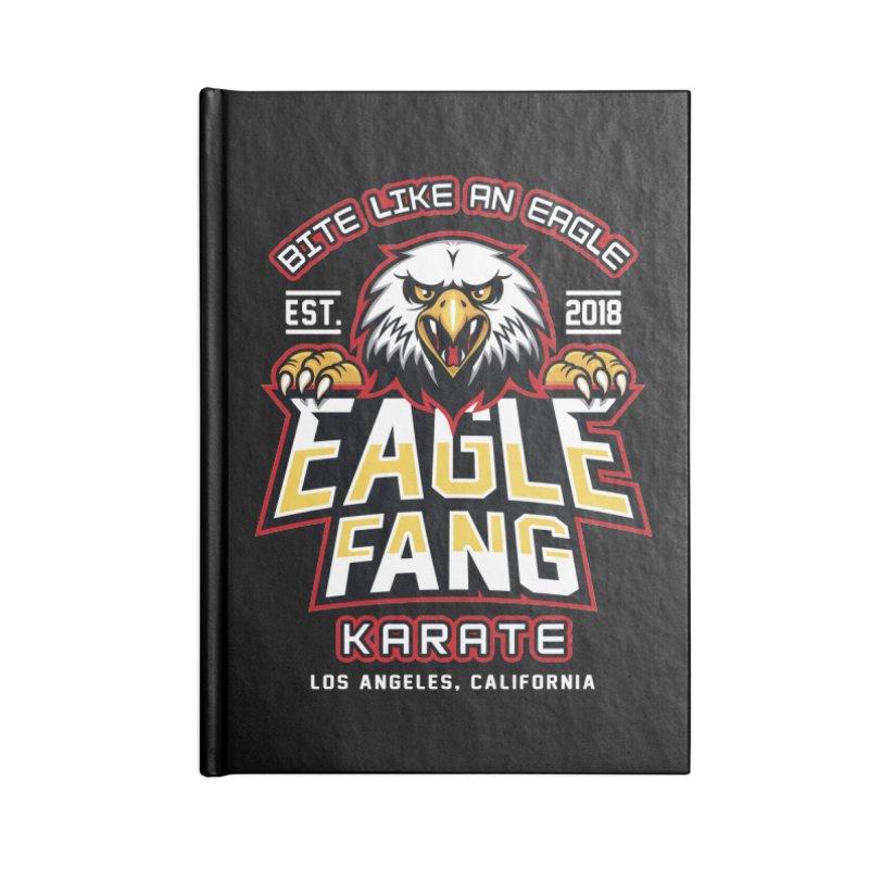 Eagle Karate Dojo Accessories Notebook by Olipop Art & Design Shop
