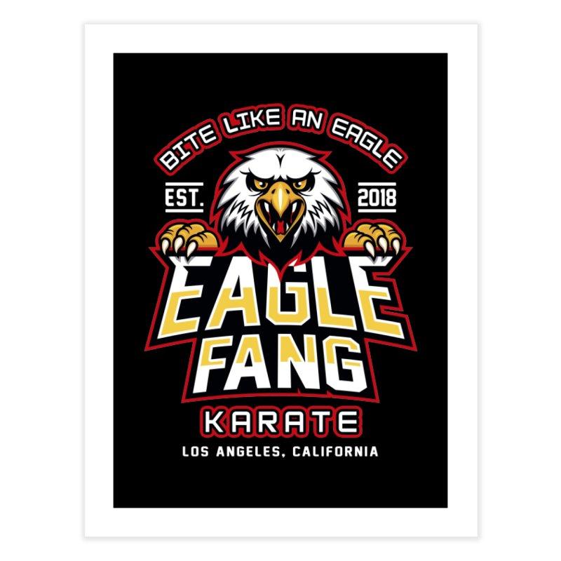 Eagle Karate Dojo Home Fine Art Print by Olipop Art & Design Shop