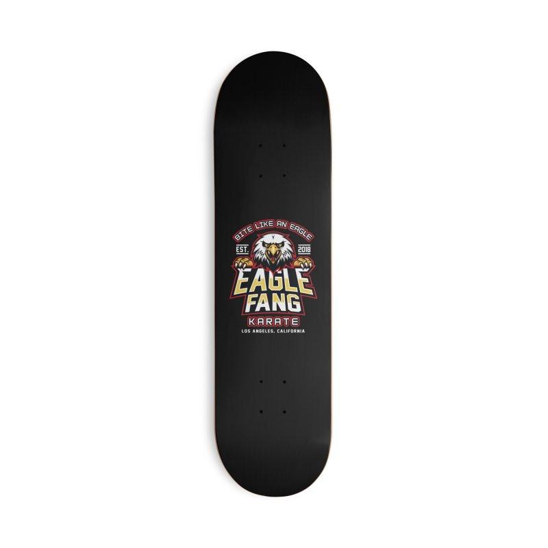 Eagle Karate Dojo Accessories Skateboard by Olipop Art & Design Shop