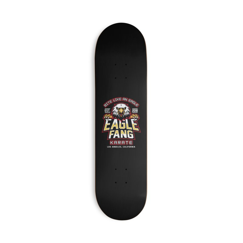Eagle Karate Dojo Accessories Skateboard by Olipop Art & Design Shop