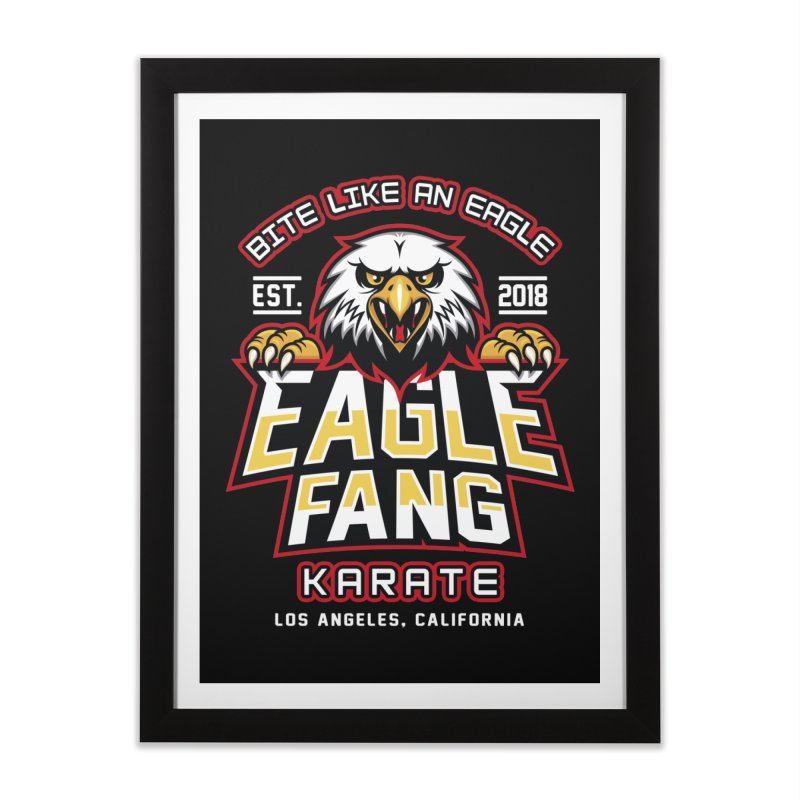 Eagle Karate Dojo Home Framed Fine Art Print by Olipop Art & Design Shop