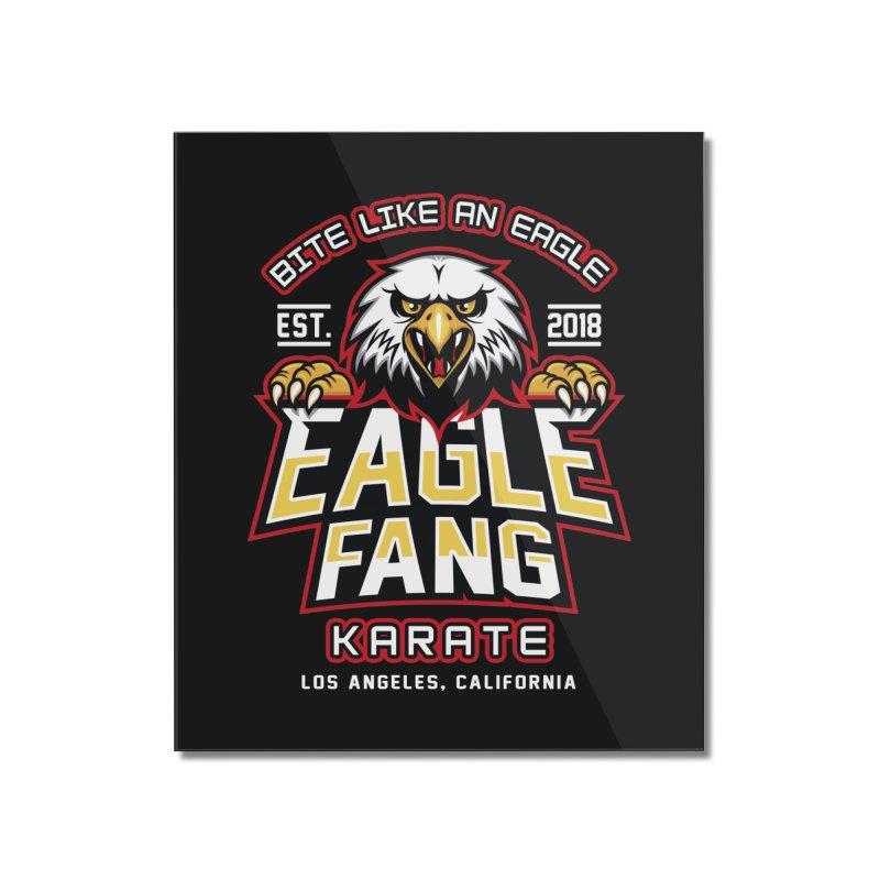Eagle Karate Dojo Home Mounted Acrylic Print by Olipop Art & Design Shop