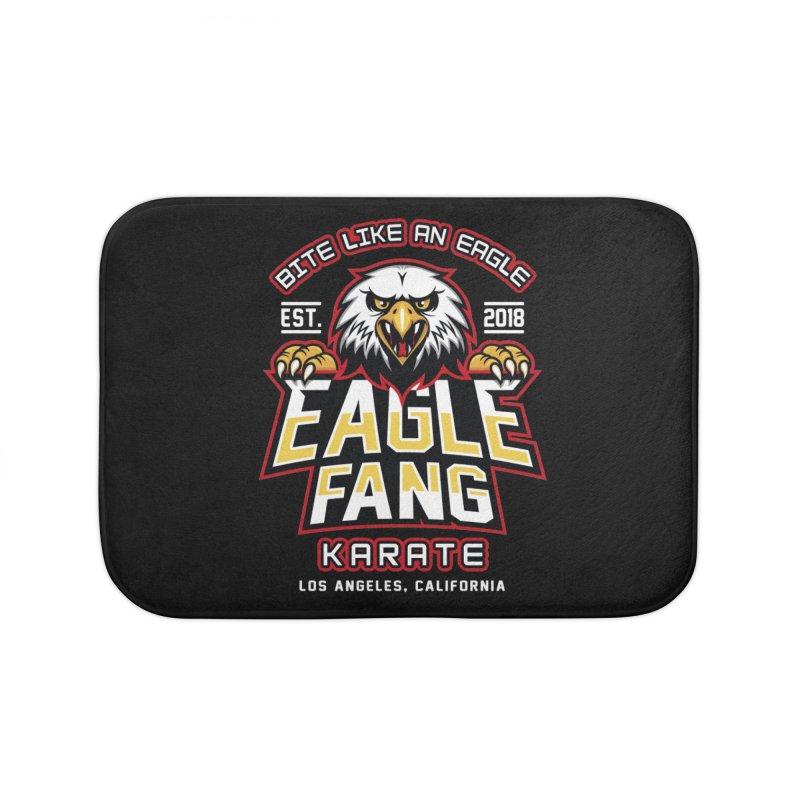 Eagle Karate Dojo Home Bath Mat by Olipop Art & Design Shop