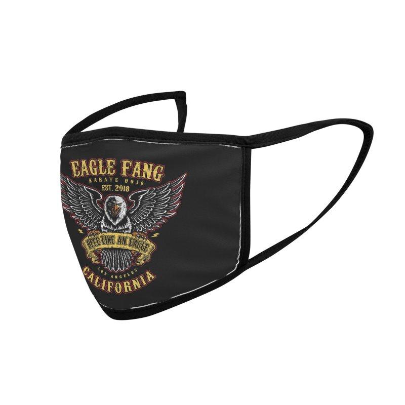 Eagle Fang Club Patch Accessories Face Mask by Olipop Art & Design Shop