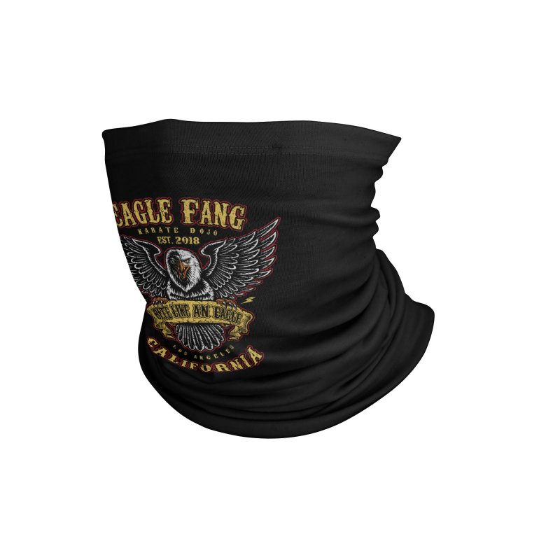 Eagle Fang Club Patch Accessories Neck Gaiter by Olipop Art & Design Shop