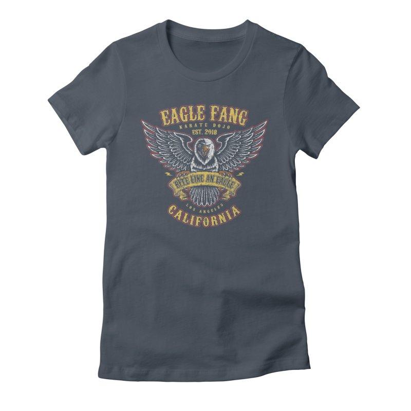 Eagle Fang Club Patch Women's T-Shirt by Olipop Art & Design Shop