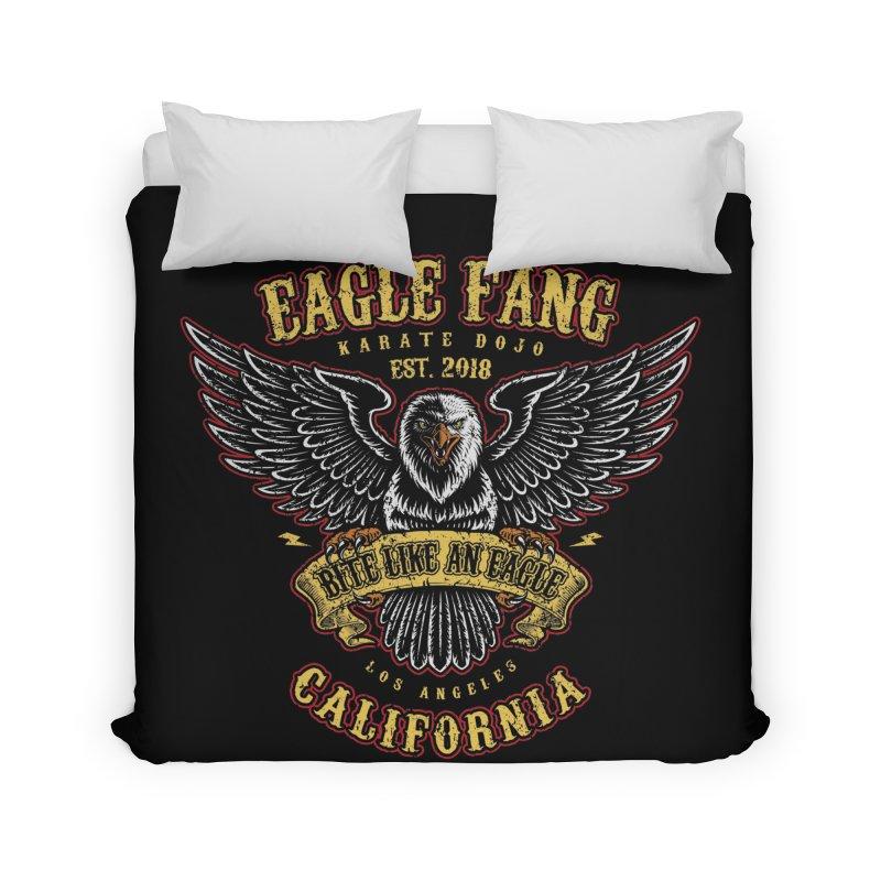 Eagle Fang Club Patch Home Duvet by Olipop Art & Design Shop