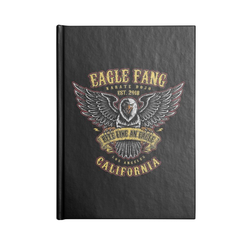 Eagle Fang Club Patch Accessories Notebook by Olipop Art & Design Shop