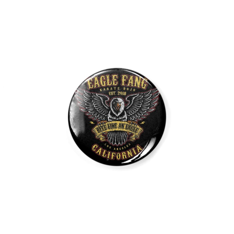 Eagle Fang Club Patch Accessories Button by Olipop Art & Design Shop