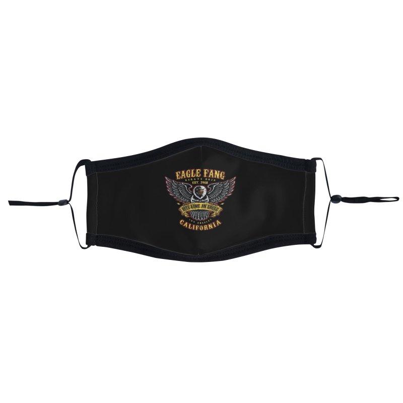 Eagle Fang Club Patch v2 Accessories Face Mask by Olipop Art & Design Shop