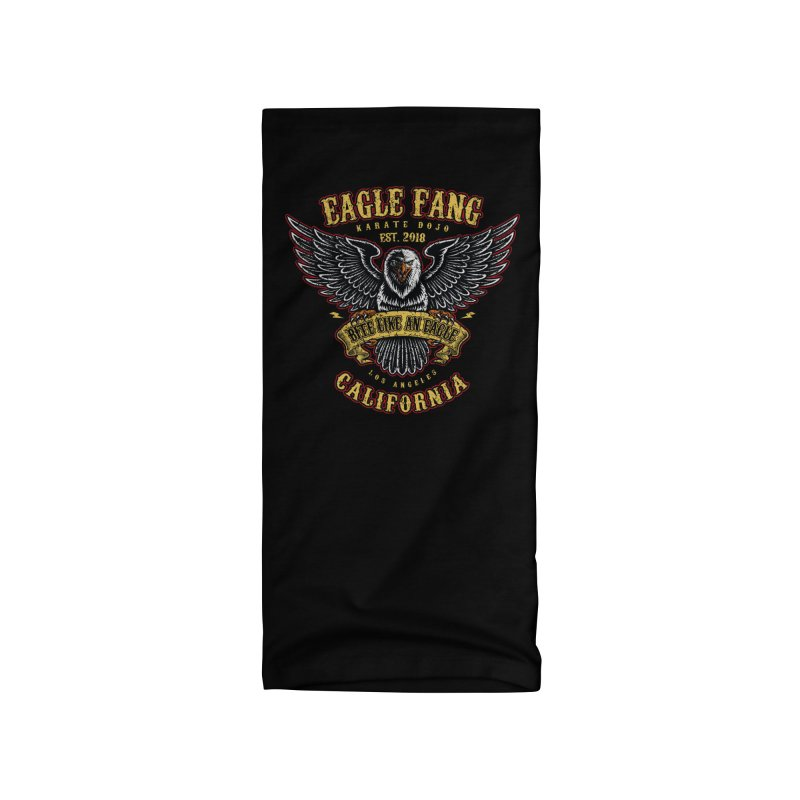 Eagle Fang Club Patch v2 Accessories Neck Gaiter by Olipop Art & Design Shop