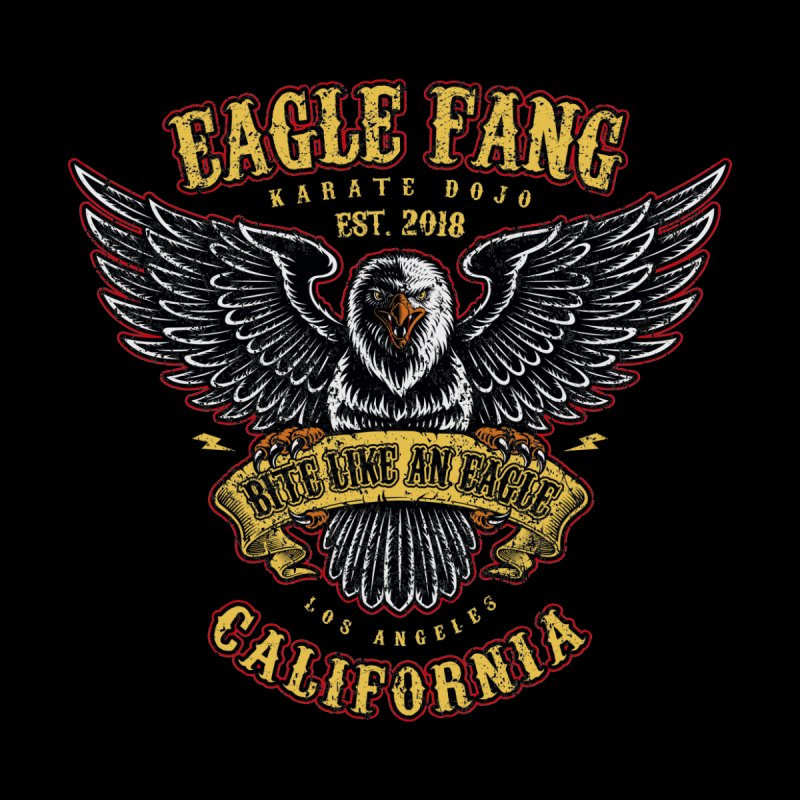 Eagle Fang Club Patch v2 Accessories Beach Towel by Olipop Art & Design Shop